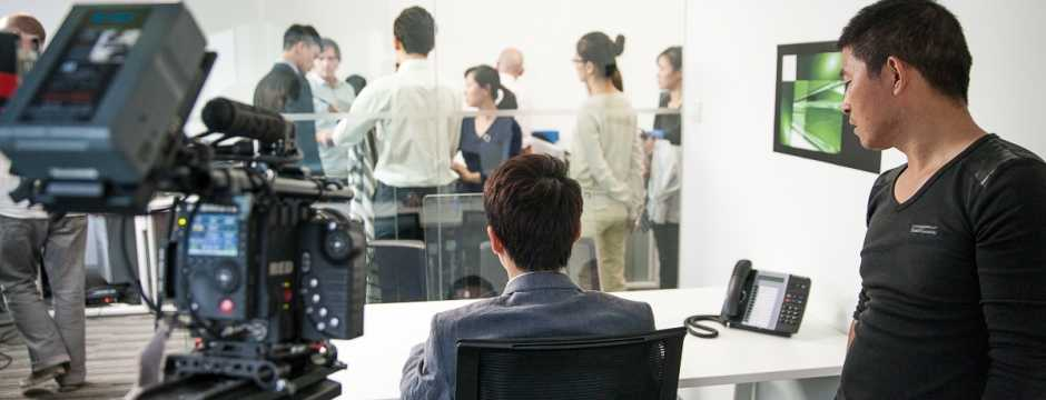 shanghai corporate video shoot